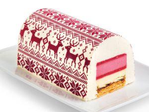 La bûche de Noël de Picard, délicieusement scandinave