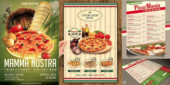 Super 5 idées de flyers pour son restaurant - Maman à table.com SP17